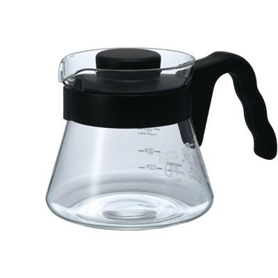HARIO V60 GLASS COFFEE SERVER 01 450ML VCS-01B