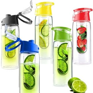harga Tritan water bottle botol 2nd gen air minum infuse citrus fruit juice Tokopedia.com
