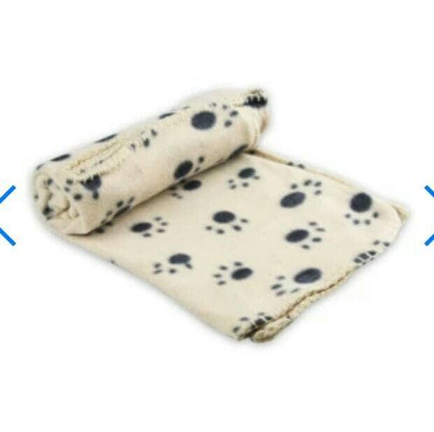 harga Paws n tail selimut anjing 100 x 70 cm - cokelat Tokopedia.com