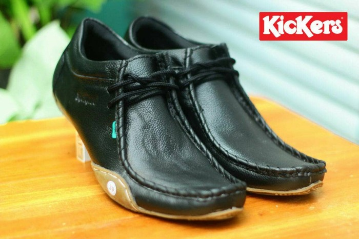 Foto Produk kickers ferari. sz 39-43. bahan kulit. warna hitam dari hazim store sepatu