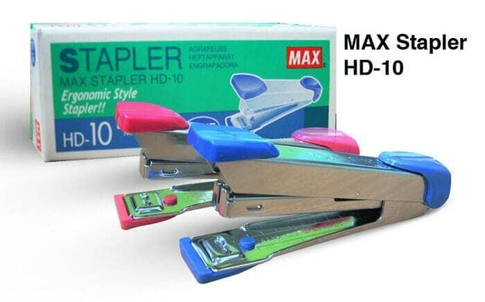 harga Stapler / staples hd10 merk max Tokopedia.com