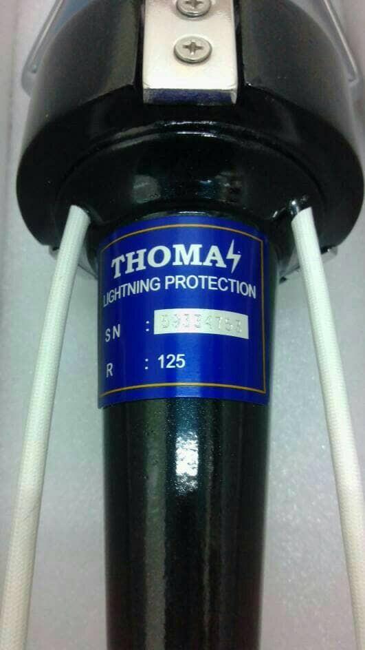 Jual penangkal petir thomas R125/thomas radius 125meter