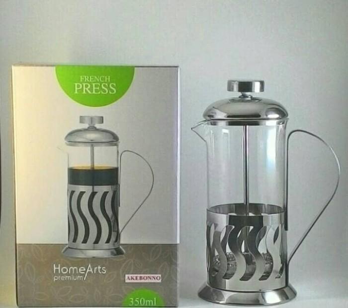 harga Coffee plunger & teh akebonno 350 ml Tokopedia.com