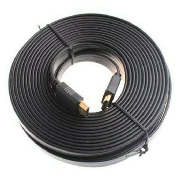Foto Produk KABEL HDMI 20M BAGUS FLEXIBLE 20 METER MURAH PANJANG 20METER KE CABLE dari ORIGINAL CHARGER