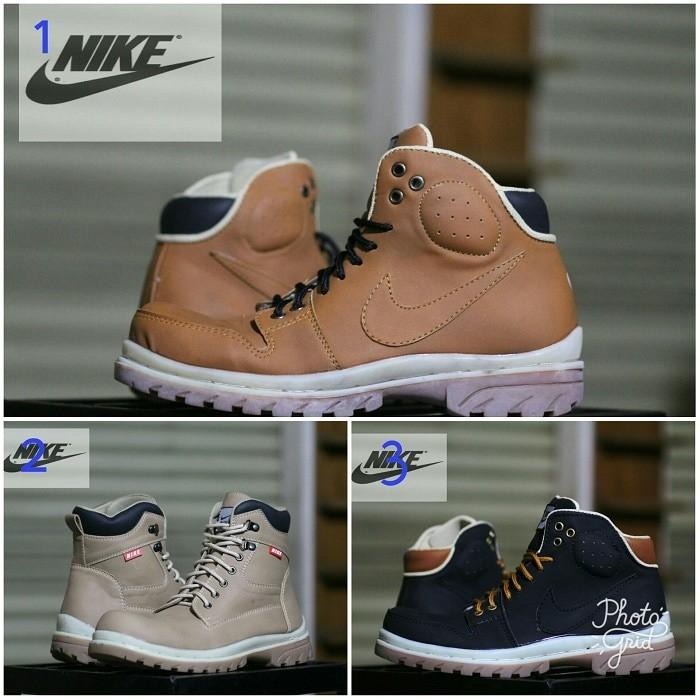 ... harga Sepatu pria nike tracker safety boots tracking kerja lapangan Tokopedia.com