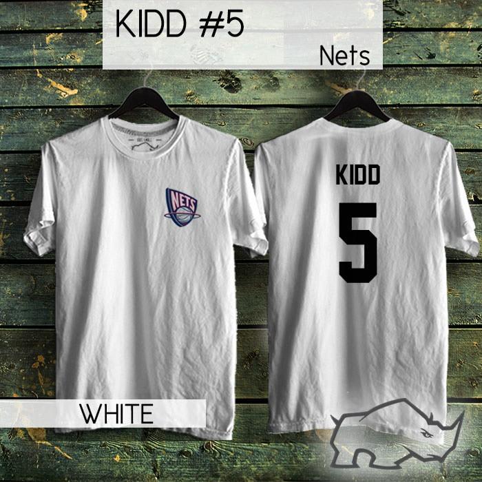 finest selection 2e9f5 d650c Jual TShirt / Kaos NBA Basketball New Jersey Nets Jason Kidd 5 - Kota  Bandung - Rhino Sports Apparel   Tokopedia