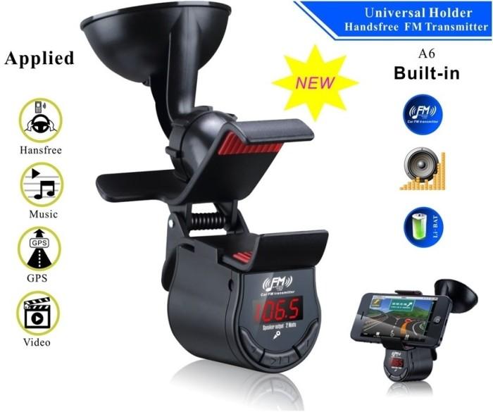 harga Lighter fm transmitter / transmiter fm mobil + hp holder Tokopedia.com