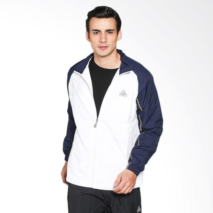 harga Jaket cowok jaket pria jaket laki-laki peak fa03017-white black Tokopedia.com