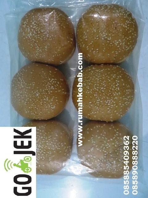 harga Khusus gojek -go kilat -roti burger wijen -roti burger wijen isi 6 Tokopedia.com