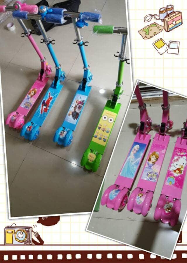 harga Sekuter Anak - Otopet - Scooter Hello Kitty Tokopedia.com