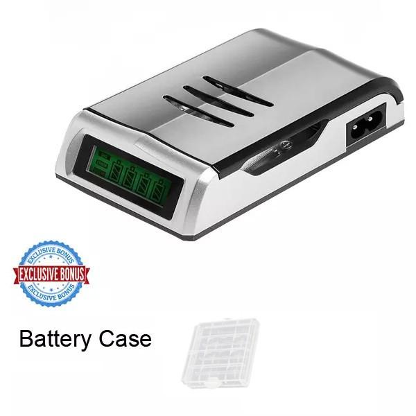 harga Smart Quick Charger Aa Atau Aaa C905w Free Eneloop Battery Case Tokopedia.com