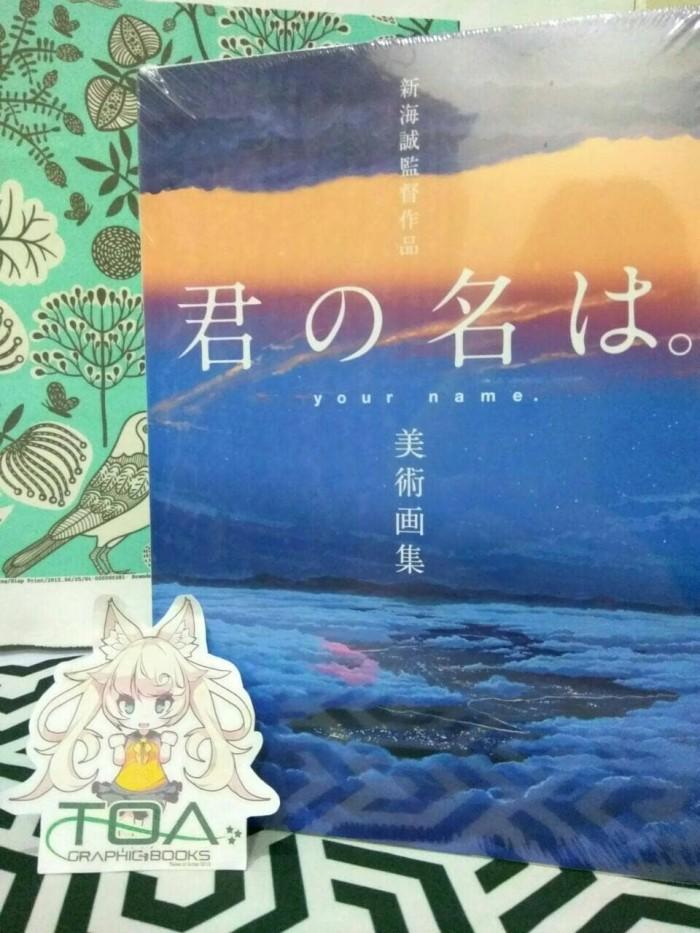harga Makoto shinkai artbook - kimi no na wa background collection Tokopedia.com