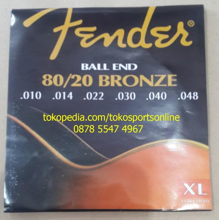 harga Fender bronze 80/20 senar gitar akustik elektrik guitar string Tokopedia.com