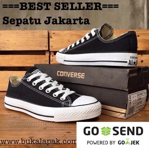 ... harga Sepatu murah pria wanita sneakers converse all star low  Tokopedia.com e1375e75aa