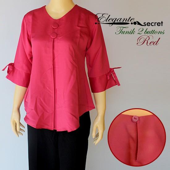 Jual Model Baju Atasan Wanita Blouse Tunik Terbaru Lengan 3 4