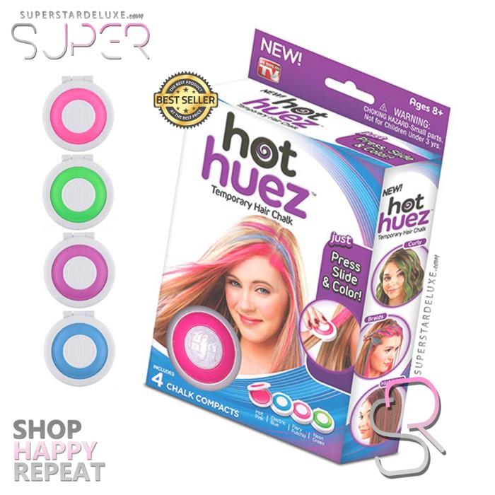 Jual Hot Huez Temporary Hair Chalk ORIGINAL - Cat Rambut Sementara ... 465a04853b