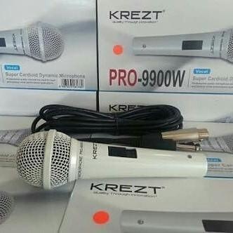 krezt pro9900w mic / mik profesional kabel mikrophone / microphone