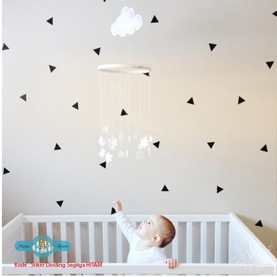 jual wall stiker / stiker dinding / stiker kamar anak (segitiga
