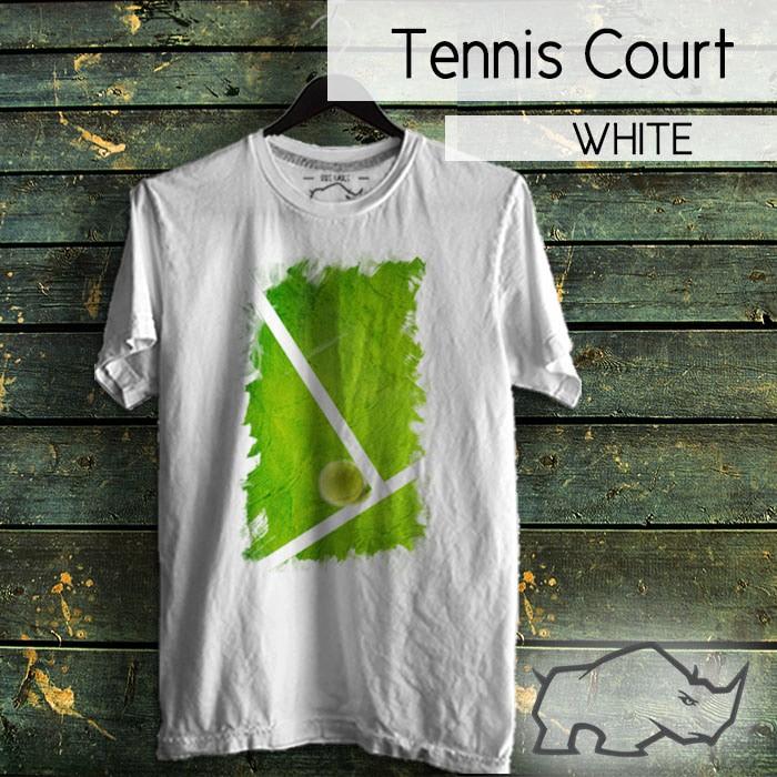 harga Tshirt tennis court Tokopedia.com