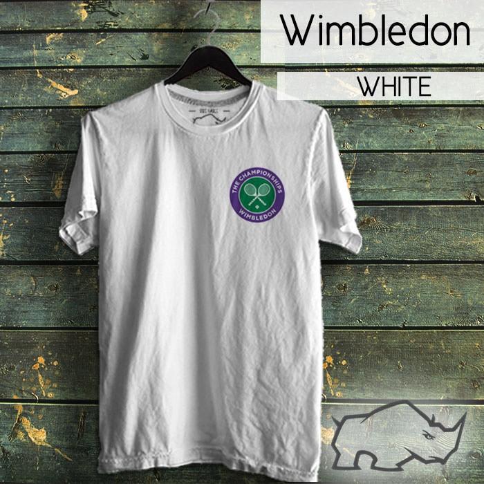 harga Tshirt tennis wimbledon the championships Tokopedia.com