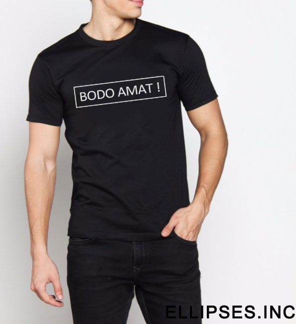 Foto Produk Tumblr Tee / T-Shirt / Kaos Bodo Amat dari Ellipses.inc
