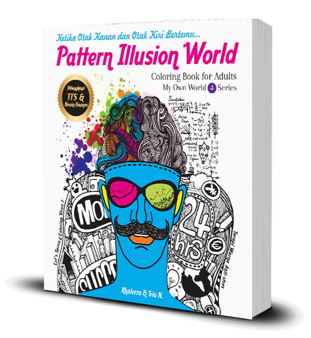 Pattern Illusion World Coloring Book For Adults 40My Own