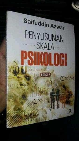harga Penyusunan skala psikologi by syaifuddin azwar Tokopedia.com