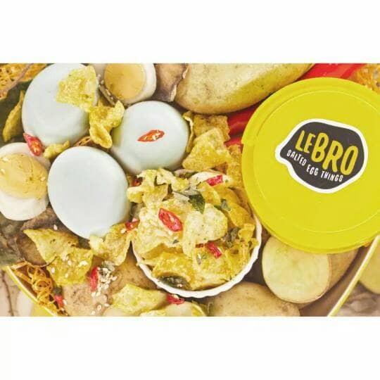 Keripik Kentang Lebro Salted Egg 120 gr
