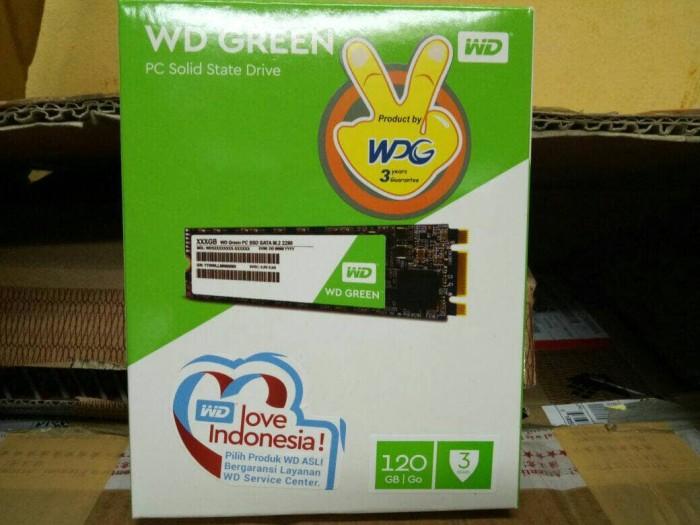 Wd green ssd 120gb m.2 sata