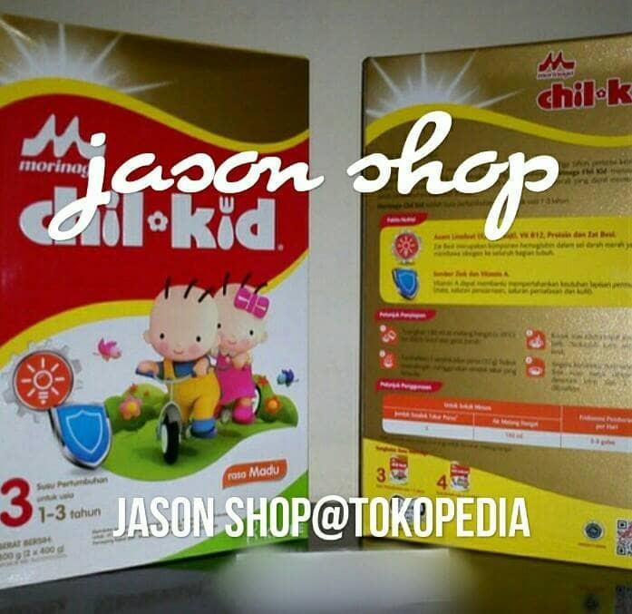 harga Susu chil kid reguler 3 (1-3 tahun) 800 gram/morinaga chil kid 3 Tokopedia.com
