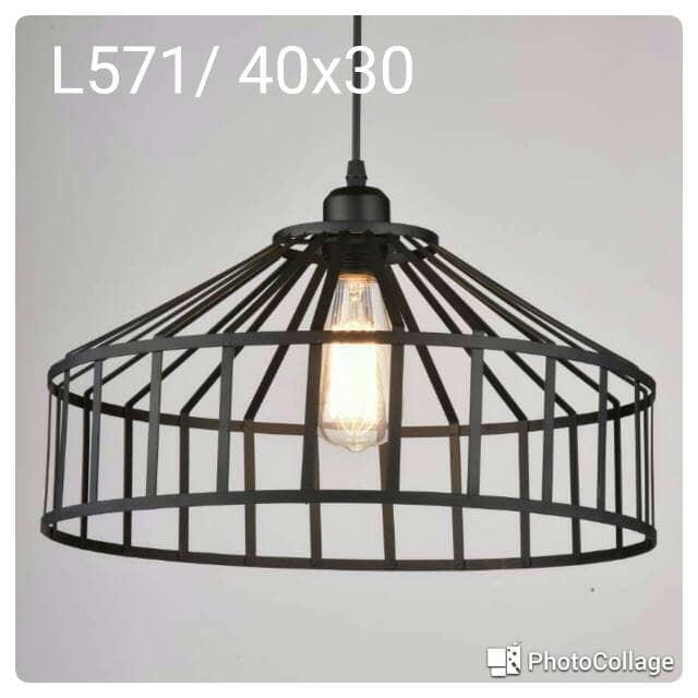 harga Lampu gantung hias vintage l571 Tokopedia.com