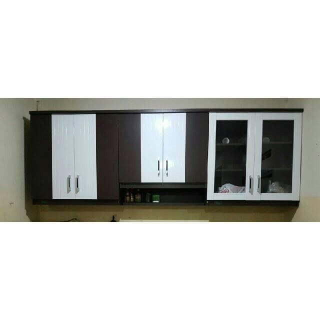 Jual Kitchen Set Atas Atau Lemari Gantung 6 Pintu Kaca Biasa Dan Rak Bumbu Kota Tangerang Selatan Kaii Olshop Tokopedia