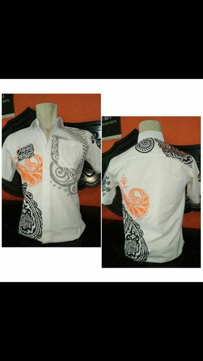 harga Kemeja Harley Davidson Batik Tokopedia.com