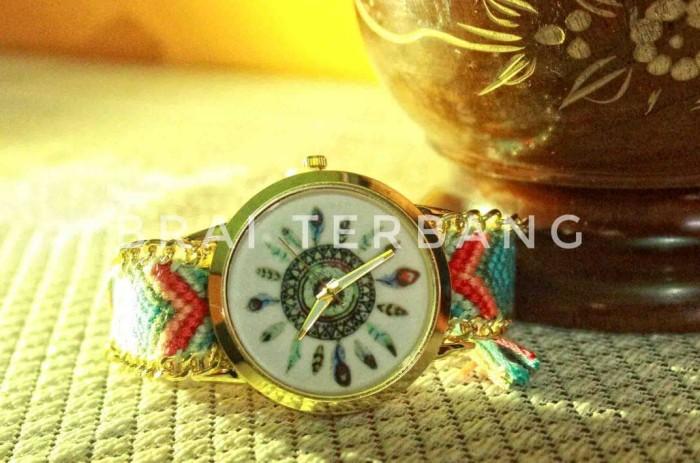 ... harga Jam tangan rajut bohemian antik unik aksesoris wanita  Tokopedia.com 2555a33794