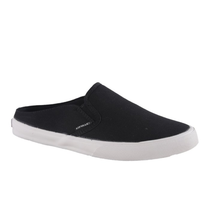 Laris Airwalk Jw-Mules Sneakers Pria - Black