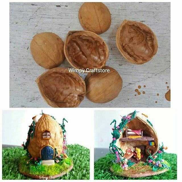 harga Walnut shell grade a kulit walnut bahan craft bahan kerajinan tangan Tokopedia.com