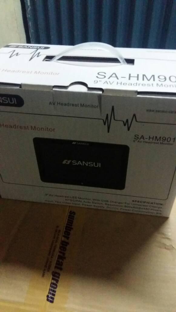 harga Tv headrest clip on 9 in sansui monitor Tokopedia.com