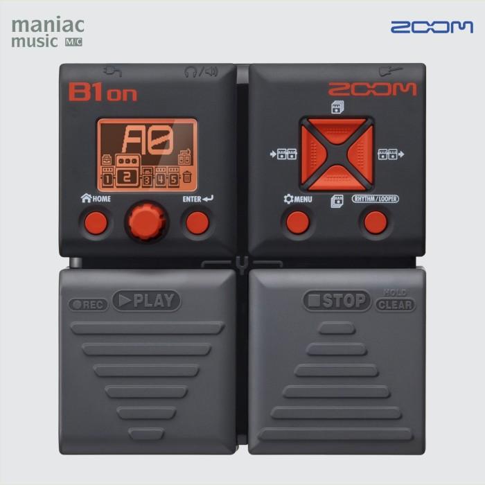 harga Zoom b1on (efek bass multi digital stompbox modeler usb batre) Tokopedia.com