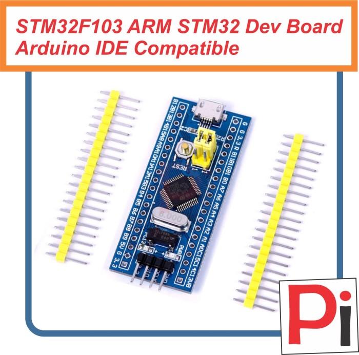 Jual STM32F103 ARM STM32 Minimum System Dev Board Arduino IDE Compatible -  Kota Semarang - Pi Electronics | Tokopedia