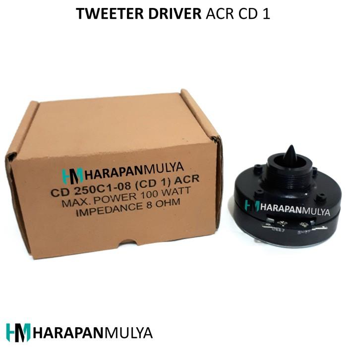 harga Tweeter driver magnet acr cd 1 Tokopedia.com