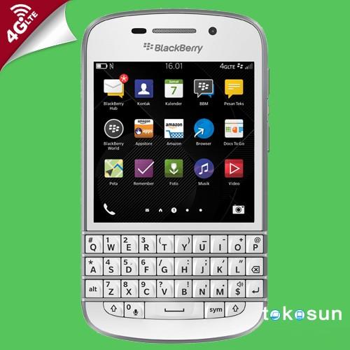 Jual Blackberry Q10 SQN100-3 4G LTE Putih Garansi Distributor - Kota  Cilegon - rebornhp | Tokopedia