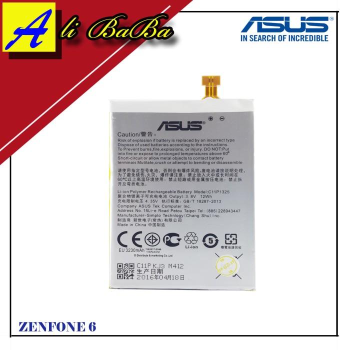 harga Baterai handphone asus zenfone 6 a600cg batre hp battery asus zenfone Tokopedia.com