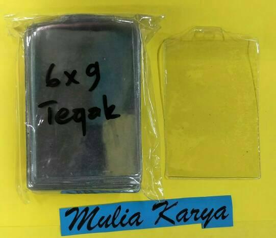 harga Plastik name tag tebal 012 mc 6 x 9 tegak/ id card / pengenal / mika Tokopedia.com