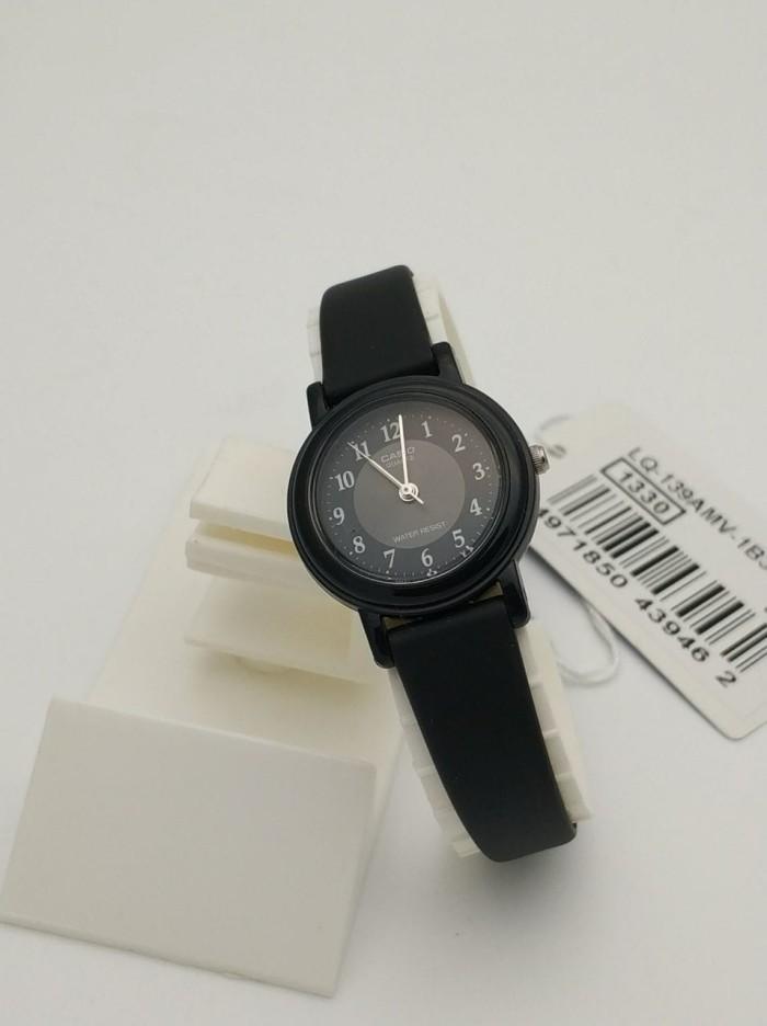 harga Casio analog jam tangan wanita strap kulit lq-139amv-1b3 original Tokopedia.com