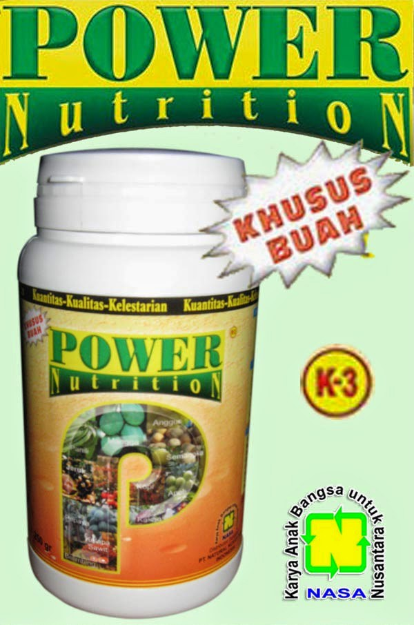 POWER NUTRITION 500gr (POWER) - Pupuk Organik nasa Khusus Buah
