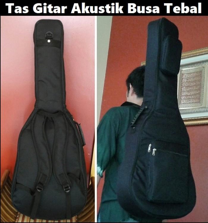 harga Tas gitar akustik busa tebal Tokopedia.com