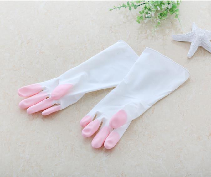 Sarung tangan karet cuci piring anti air Rubber glove murah - HPR088