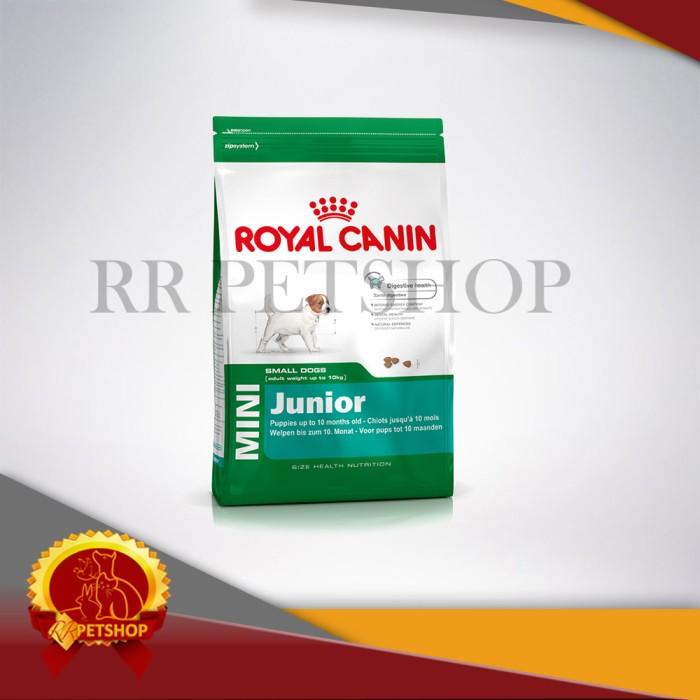 Dog food / makanan anjing royal canin mini junior 4 kg