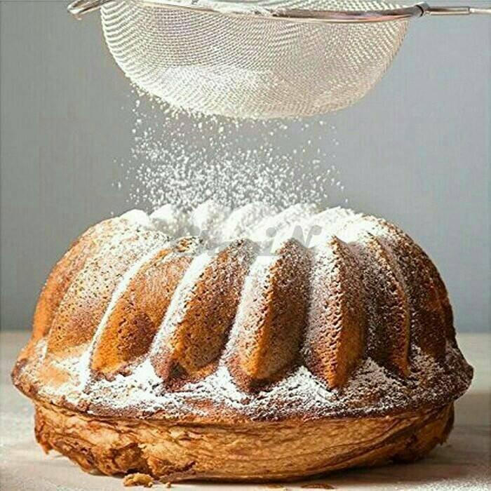 Diameter 14 cm saringan minyak tepung bumbu roti goreng alat dapur