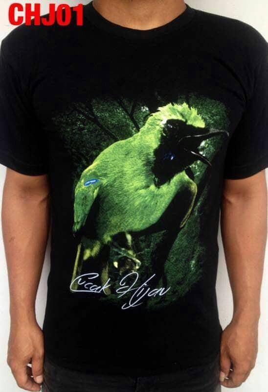 harga Kaos t shirt kicau mania burung cucak ijo  3d terbaru Tokopedia.com